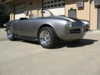 1958 Alfa Romeo Guilietta Spider Veloce.  -The car has