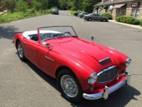 1958 Austin Healey 100-6.  -This early 100-6 is a