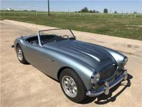 1958 Austin Healey 100 6 This Healey is a true two