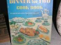 Spiral bound cookbook from 1958 by Betty Crocker,