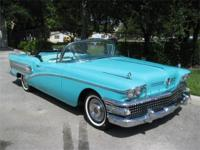 1958 Buick Century Convertible. A beautiful , chrome