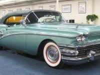 1958 Buick Century Convertible Chassis Number: