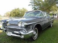 1958 Cadillac, Series 62 Sedan, Extended Deck. -29K