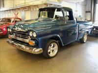 This is a very clean 1958 Apache pickup. Only 2485