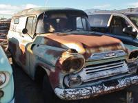 1958 Chevrolet Apache Truck, short bed, Fleet side for