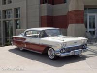 1958 Chevrolet Bel Air 2DR HT ..Original Color Red &