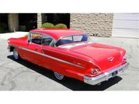 1958 CHEVROLET BELAIR SPORT COUPE, 2 DOOR HARDTOP,YOU