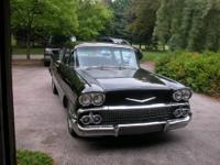 1958 Chevrolet Biscayne 2 door post. New Chevy 350 with