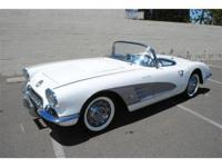 1958 Corvette VIN # J58S105557 Matching #'s Fuel