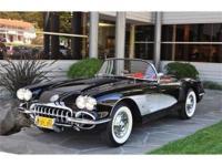 1958 Chevrolet Corvette Chassis No. J58S107851 - Engine