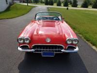 Beautiful example of a 1958 Corvette 283 245hp dual