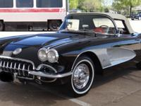 1958 Chevrolet Corvette Convertible 2-Door, presented