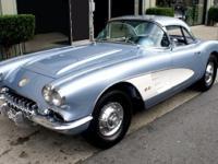 Year: 1958 Make: Chevrolet Model: Corvette VIN: