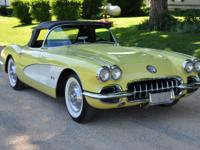 This is a beautiful 250 hp 283  Fuel injected Corvette