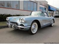 The 1958 Corvette was the ONLY year for the unique