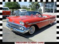 Just in!!! 1958 Chevrolet Impala Convertible