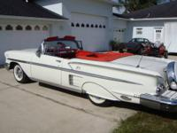 1958 chevy impala conv.-348 tri-power engine-powerglide
