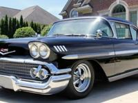 Year: 1958Make: ChevroletModel: ImpalaTrim: Impala