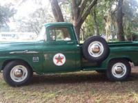 Super clean 1958 Apache pick up truck.Also known as The