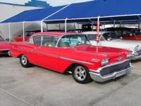 This is a beautiful 1958 Chevy Belair. This is a hard