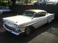 EXCEPTIONALLY RARE! 1958 Chevy Impala Hardtop 50th