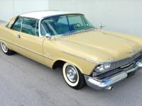 1958 Chrysler Imperial Crown 2 door hardtop; 392/345 hp
