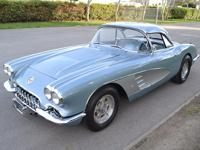 The 58 Corvette was the epitome of flash from an era