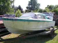 This is a 16ft. cabin cruiser that is from California.