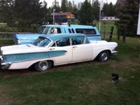 1958 EDSEL is in excellent shape,. The EDSEL runs and