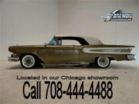 This 1958 Edsel Citation Convertible is 1 of 930 built,