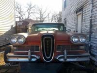 1958 Edsel Pacer 2 door hardtop with title. It has a