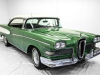 Very rare 1958 Edsel Pacer 2 door non-post coupe.