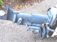 1958 EVENRUDE OUTBOARD ENGINE THIS WAS MY LATE FATHER'S