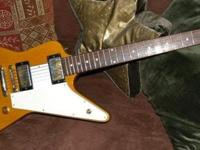 "1958 Gibson Explorer Custom Shop ""Slash requirements to"