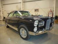 1958 Facel Vega Typhoon ..Frame Off Restoration