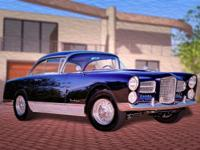 1958 Facel Vega Typhoon 2DR HT Colorado Car Mfg in