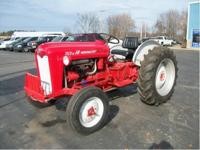 RESTORED This tractor is 2WD. It has a 48.4 horsepower