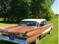 1958 Ford Fairline (NY) - $20,000 120,000 miles, 4 door