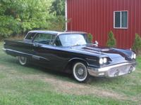 This '58 Ford Thunderbird is in excellent condition and