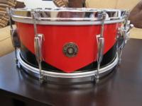 This is a 1958 Gretsch Semi Pro drum set. The semi pro