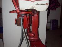 For sale is a Johnson 5.5 outboard motor modle CD-15.