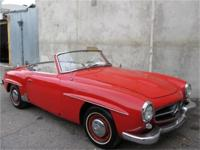 1958 Mercedes Benz 190SL Roadster Convertible with 2