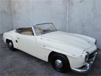 1958 Mercedes Benz 190SL Roadster Convertible! 1958