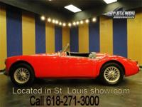 1958 MGA 1500 roadster for sale! Its red paint is