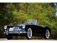 This 1958 MG MGA 2dr Convertible . It is equipped with