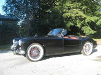 For sale is this beautiful 1958 MGA. Purchased in