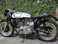 This gorgeous Norton / AJS Special is the creative
