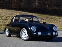 1958 Porsche 356 A Sun Roof Coupe finished in Black