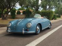 1958 Porsche 356 Speedster. Lots of original parts used