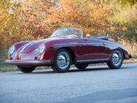 1958 Porsche 356 Speedster, This is an excellent